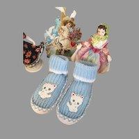 Cute Vintage Toddler Slippers!