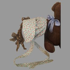 Sweet Dolly Country Sunbonnet