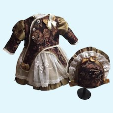 Elegant Silk Doll Costume