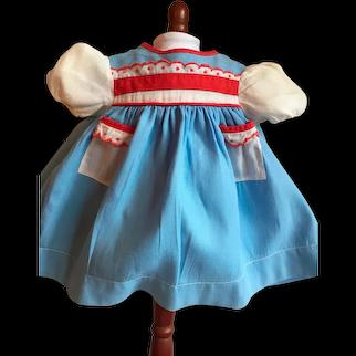 Cute Vintage Baby Doll Dress & Slip