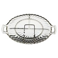 """Fostoria """"Old Colony"""" Divided Serving Dish"""