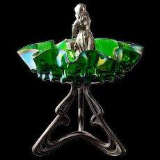 Art Nouveau Brides Basket - Red Tag Sale Item