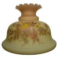 Fenton Burmese Glass Chandelier Shade