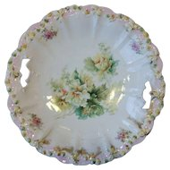 RS Prussia Rosebud Mold Cake Plate