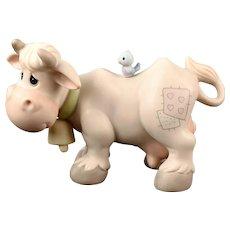 """Precious Moments """"Cow"""" for the Nativity Scene"""