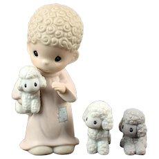 "Precious Moments ""Sheep Herder"""