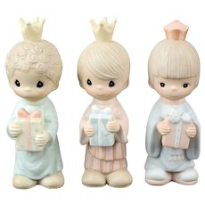 """Precious Moments """"We Three Kings"""" for the Large Nativity Scene"""