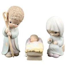 "Precious Moments ""Come Let Us Adore Him"" Large Nativity Scene"