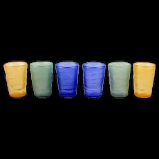 Consolidated/Phoenix Glass Catalonian Whiskey Glasses
