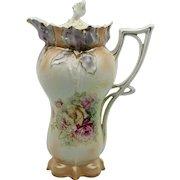 RS Prussia Iris Mold Chocolate Pot