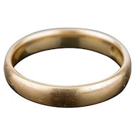 Solid 14 K Gold Ring Wedding Band