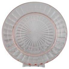 Anchoring and Hocking Block Optic Salad Plates