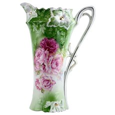 RS Prussia Carnation Mold Tankard