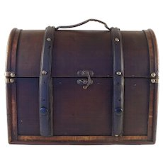 Dome Top Small Trunk or Bag