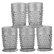 Vintage Hobnail Cordial or Shot Glasses