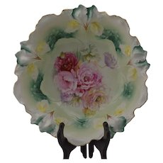 RS Prussia Iris Mold Center Bowl