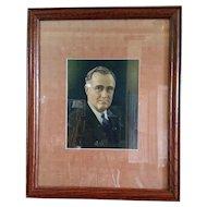 Print of Franklin D. Roosevelt