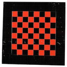 Pa Slate Belt Marbleized Checker Board