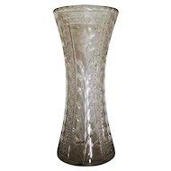 American Brilliant Period Cut Glass Vase