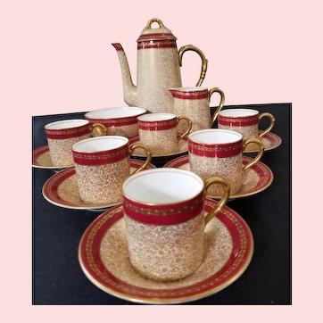 Royal Worcester Demitasse Coffee Tea  Cup Set