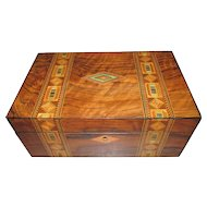 C1890 Inlaid Jewellery / Table Box