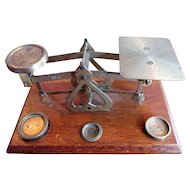 Edwardian English Desk Scales