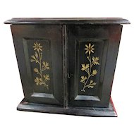 Fine Late Victorian Table Cabinet Jewellery Cabinet / Collectors Cabinet etc