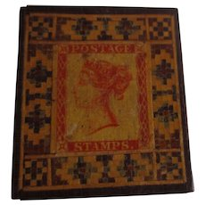 Victorian Tunbridge Ware Stamp Box