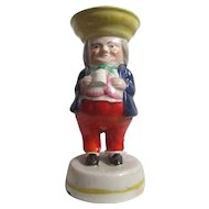 Victorian Staffordshire Pottery Salt