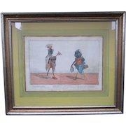 Thomas Tegg (1776–1845) English C1800 Hand Colored Satirical Print