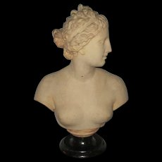 Good Classical Early Victorian Bust