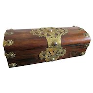 C1880 Antique English Rosewood box