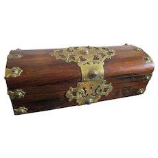 C1880 Antique English Rosewood box