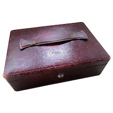 C1910 Leather Jewelry Box