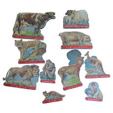Group of vintage Noahs Ark animals