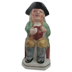 C1900 Staffordshire Pottery Toby Jug