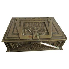 Fine C1920 Art Deco Table Box