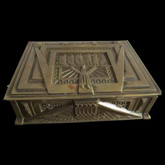 Fine C1920 Art Deco Table Box