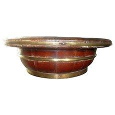 C1900 Chinese Coopered Bowl