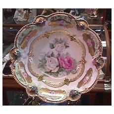 R S Prussia Bowl - Tiffany Finish