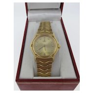 Lady's 18 K Yellow Gold Ebel Bracelet Watch