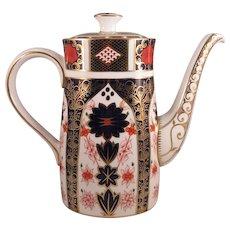 Royal Crown Derby Imari Coffee Pot