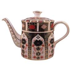Royal Crown Derby Imari Tea Pot