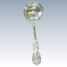 """Francis I Reed & Barton 6 7/8""""  Solid Sterling Silver Gravy Ladle"""