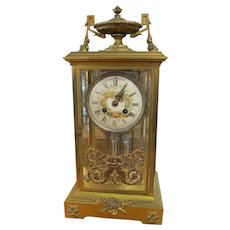 Old Mercury Pendulum Clock