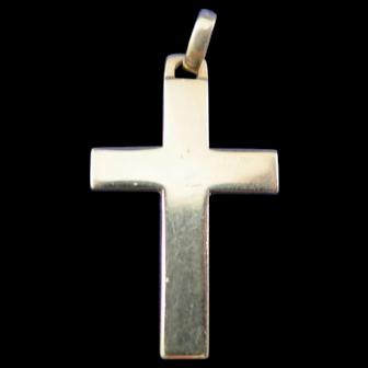 James Avery 14 K Yellow Gold Cross