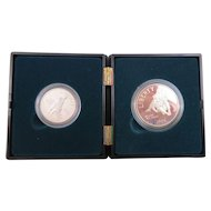 United States Mint Set - 1995 San Francisco Mint Civil War Battlefield Commemorative Coins