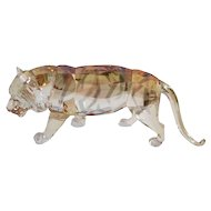 Swarovski Endangered Wildlife Tiger Figurine