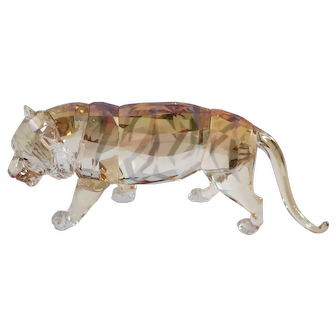 Swarovski Endangered Wildlife Tiger Figurine