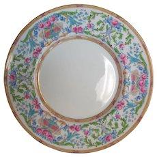 """12 Antique Minton 10.25"""" Hand Enameled Plates H3105 - Excellent"""